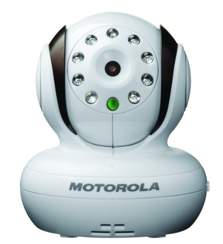 Motorola Additional Camera for Motorola MBP33 and MBP36 Baby Monitor,Brown with White - 1