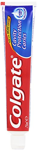 Colgate - Dentifricio Protection Caries, Rinforza I Denti Rifresca l'Alito - 75 ml