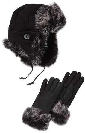 Emu Women'S Scarf -  Black - Black - One Size (Brand Size: M/L)