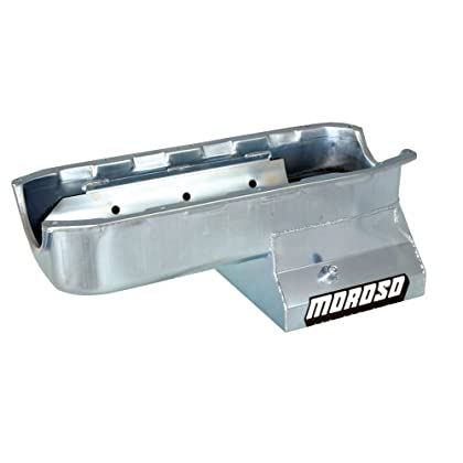 &Compare Moroso 20196 8 25' Oil Pan with Tray for Chevy