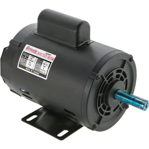Grizzly G2905 Single-Phase Motor, 1 HP (Single Phase Motor compare prices)