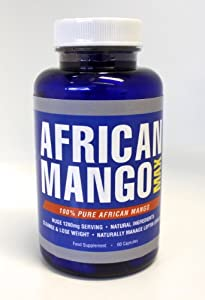 African Mango Max Strength - High Performance Fat Burning Supplement Pure Irvingia Gabonensis Appetite Suppressant Weight Loss Diet Pill by Advanced Health