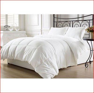 White Goose Down Alternative Comforter (Duvet Cover Insert) Queen / Full Size (Alternative Down Comfortor compare prices)