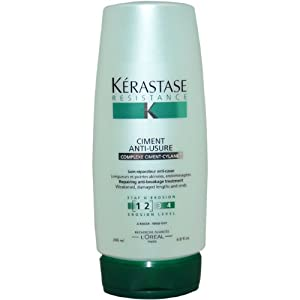 Resistance Ciment Anti-Usure Conditioner by Kerastase for Unisex Conditioner, 6.8 Ounce