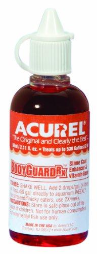 Imagen de Acurel LLC guardaespaldas RX 50 ml acuario y estanque agua tratamiento trata, 500 galones