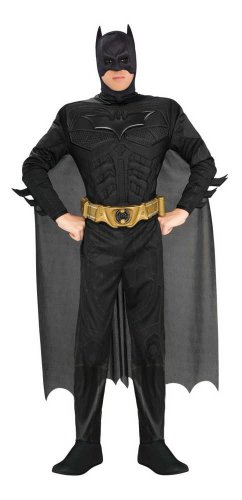 Rubie's Costume Company Men's Deluxe Batman
