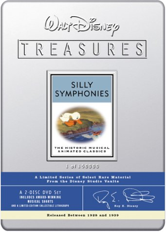 Walt Disney Treasures - Silly Symphonies front-331056
