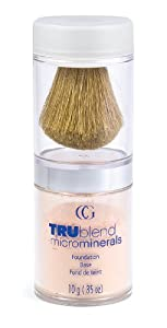 CoverGirl TruBlend Micro Minerals Foundation, Classic Ivory 410, 0.35-Ounce Package