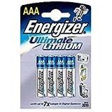 Energizer L92 Lithium Batterie AAA, 1,5 Volt,1260mAh 4er Blister