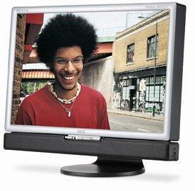 "NEC MultiSync 20WMGX2-BK 20.1"" LCD Monitor"