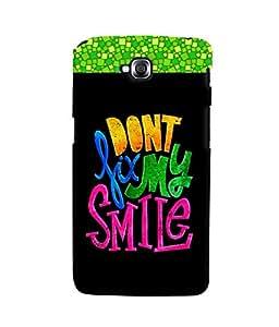 Fuson 3D Printed Quotes Designer back case cover for LG G Pro Lite - D4340