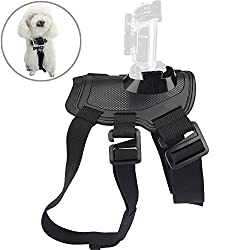 Deekec Gopro Fetch - Dog Harness Chest Strap Belt Mount for GoPro cameras [Compatible with all GoPro cameras](160309DH)