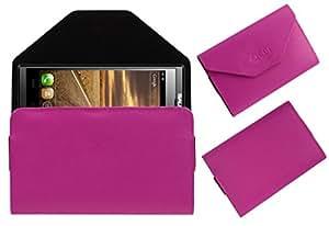 Acm Premium Pouch Case For Salora Powermaxx Z1 Flip Flap Cover Holder Pink
