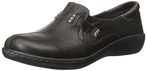 Skechers Women's Washington Flat, Dark Brown Leather, 9 M US (Women Shoes Brown compare prices)