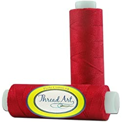 Pearl Cotton Thread - 75yd - Color 321 - RED - 40 Colors Available