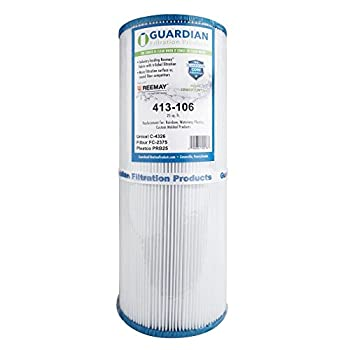 2 Guardian Pool Spa Filter Replaces Unicel C-4326 Spa Filter FC2375 Pleatco Prb25, 25 sq ft