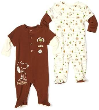 Amazon Franco Apparel Baby Boys Newborn Snoopy Footed