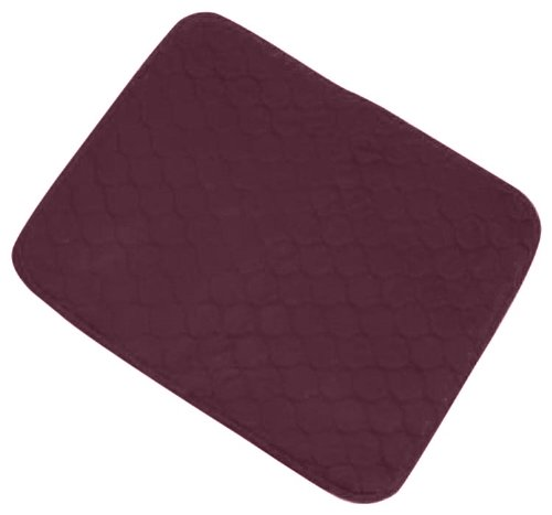 Incontinence Protection Chair Pad- Burgundy