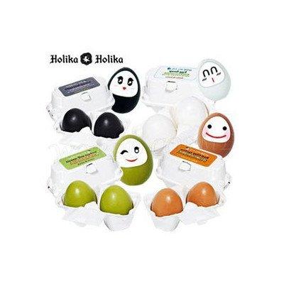 HolikaHolika ホリカホリカ 滑らかな エッグ スキン エッグ ソープ 50g2個 炭