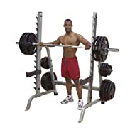 Buy Commercial Multi-Press/Sqt Rack (Grey) On sale-image
