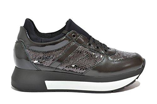 Frau Sneakers scarpe donna nero 43R7 38