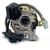 Carburetor 49cc 50cc 4 Stroke GY6 Engine 139QMB 139QMA 50QT w Electric Choke