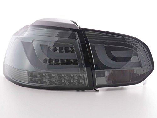 Rückleuchten Set LED VW Golf 6 Typ 1K Bj. 2008-2012 schwarz mit LED Blinker