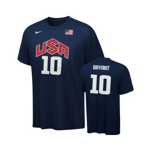 Youth Nike Navy Team USA Basketball 2012 Olympics Jersey T-Shirt