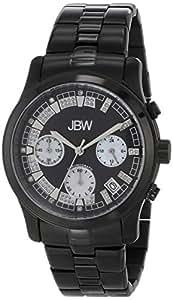 "JBW Women's JB-6217-H ""Alessandra"" Black Ion Chronograph Diamond Watch"