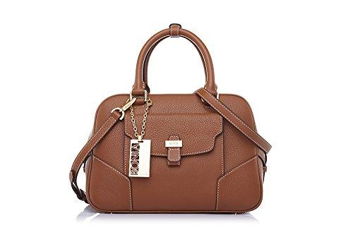 bonia-womens-brown-classic-soft-satchel
