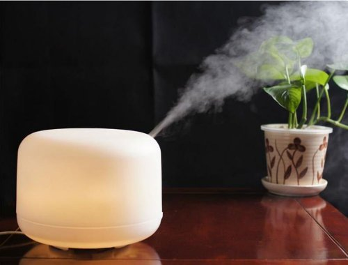 MIU ColorTM 500ml Aroma Diffuser Ultrasonic Humidifier LED Color Changing Lamp Light Ionizer