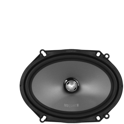 Mbquart Pvl268 6 X 8-Inch 2-Way Component/Convertible Coaxial Speaker