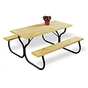 Amazon.com: Jack Post FC-30 Fiesta Charm Picnic Table Frame: Industrial & Scientific