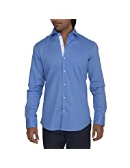 Urban Paris Men's Giza Cotton Regular Fit Shirt - B00QAYJMYK