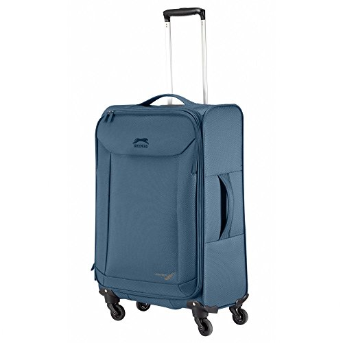Ghepard valigia trolley grande, blue-navy, Plume, light cm 79 ultraleggero