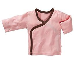 Babysoy Baby Girls\' Kimono Layering Top - Petal - 6-12 Months