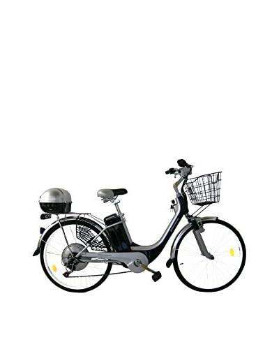 Girardengo Bicicleta Eléctrica Carenada Negro / Gris