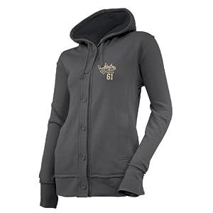 NCAA Washington Huskies Ladies Chunky Cable Hoodie by Ouray Sportswear