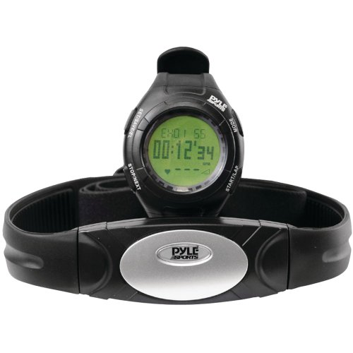 Cheap Pyle Sports PHRM28 Advance Heart Rate Watch with 3D Walking/Running Sensor (PHRM28)