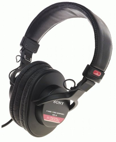Sony MDR-V6 Monitor Series Headphones with CCAW Voice Coil