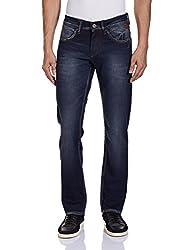 Yellow Jeans Men's Fashion Slim Jeans (PLAYBOY 501_38W x 34L_Blue)