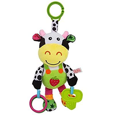 Zig Zag Kid Musical Cow Soft Plush Baby Rattle with Teether by Zig Zag Kid that we recomend personally.