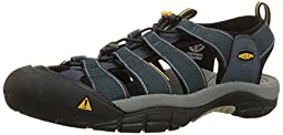 KEEN Men's Newport H2 Sandal,Navy/Medium Grey,10 M US