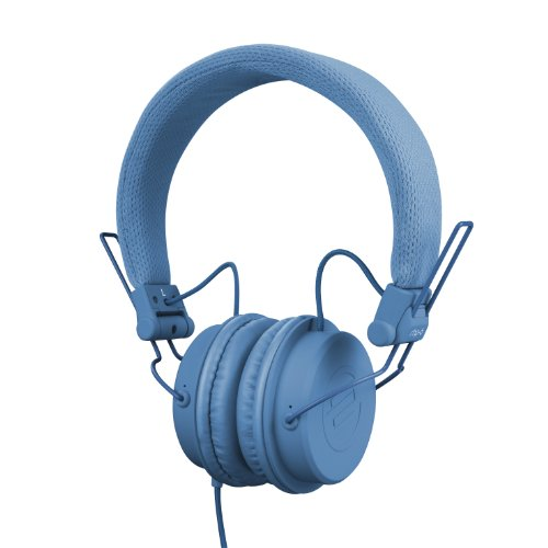 Reloop Rhp-6 Ultra Compact Dj And Lifestyle Headphones, Retractable, Closed, Blue (Rhp-6-Blue)