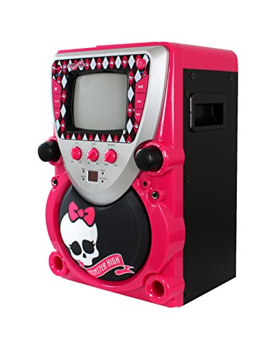 Monster High Portable Karaoke Machine - Pink (68148)