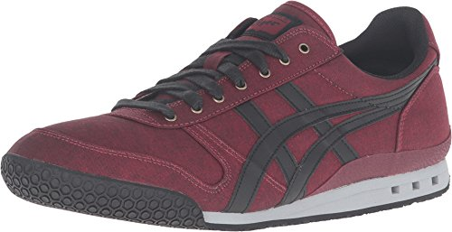 Onitsuka Tiger by Asics Unisex Ultimate 81? Zinfandel/Black Sneaker Men's 9.5, Women's 11 Medium