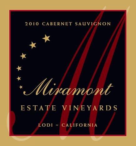 2010 Miramont Estate Cabernet Sauvignon, Lodi 750 Ml