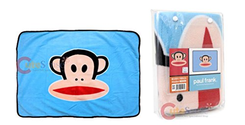"Paul Frank Face Baby Fleece Blanket Throw 40""x27"" - 1"