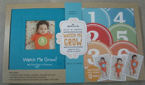 Hallmark Baby BBA7015 Watch Me Grow My First Year Boy - 1