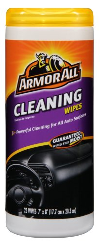 Armor All Cleaning Wipes  25-Count Plastic Canister (Pack of 6)